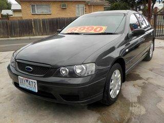 2006 Ford Falcon BF XT Grey 4 Speed Auto Seq Sportshift Sedan.