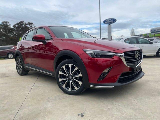 Used Mazda CX-3 AKARI Goulburn, 2019 Mazda CX-3 AKARI Red Sports Automatic Wagon