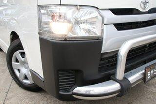 2017 Toyota HiAce KDH201R MY16 LWB Crew French Vanilla 5 Speed Manual Van.