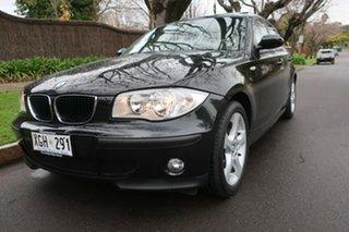 2005 BMW 1 Series E87 118i Black 6 Speed Automatic Hatchback