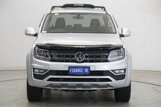 2018 Volkswagen Amarok 2H MY18 TDI550 4MOTION Perm Highline Reflx Silver 8 Speed Automatic Utility.