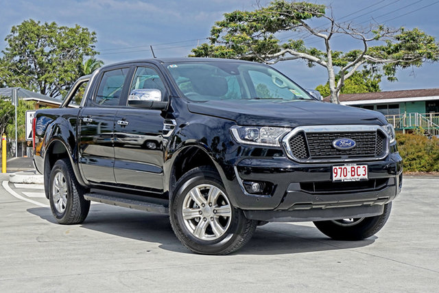 Used Ford Ranger PX MkIII 2021.25MY XLT Capalaba, 2021 Ford Ranger PX MkIII 2021.25MY XLT Black 10 Speed Sports Automatic Double Cab Pick Up