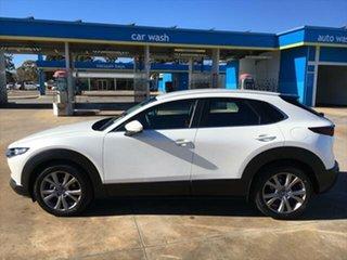 2021 Mazda CX-30 DM2W7A G20 SKYACTIV-Drive Evolve Snowflake White Pearl 6 Speed Sports Automatic