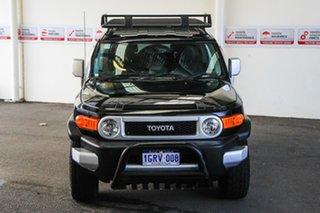 2012 Toyota FJ Cruiser GSJ15R Ebony 5 Speed Automatic Wagon.