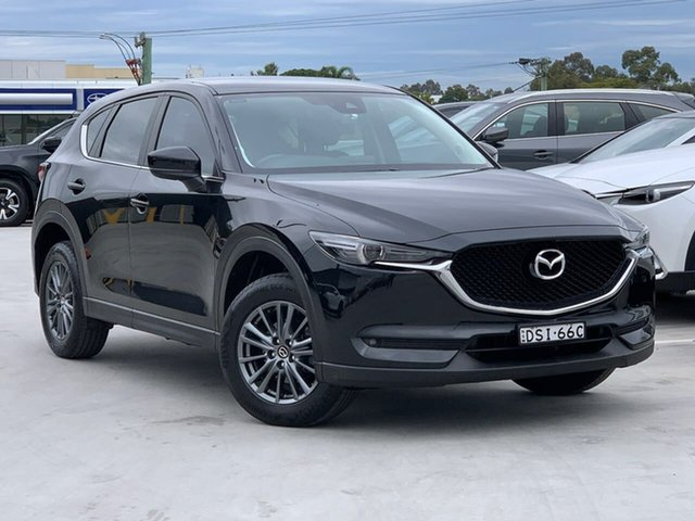 Used Mazda CX-5 KF2W7A Maxx SKYACTIV-Drive FWD Sport Liverpool, 2017 Mazda CX-5 KF2W7A Maxx SKYACTIV-Drive FWD Sport Black 6 Speed Sports Automatic Wagon
