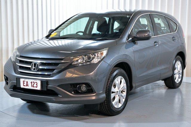 Used Honda CR-V RM MY14 DTi-S 4WD Hendra, 2014 Honda CR-V RM MY14 DTi-S 4WD Grey 5 Speed Automatic Wagon