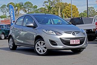 2012 Mazda 2 DE10Y2 MY12 Neo Aluminium 4 Speed Automatic Hatchback.