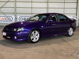 2004 Ford Falcon BA Mk II XR8 Purple 4 Speed Sports Automatic Sedan.