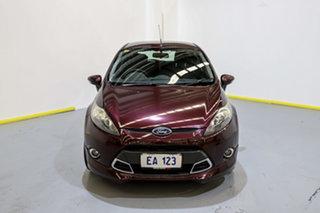 2013 Ford Fiesta WT Zetec PwrShift Purple/Black 6 Speed Sports Automatic Dual Clutch Hatchback.