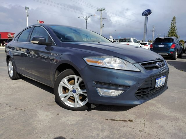Used Ford Mondeo MC Zetec PwrShift EcoBoost Morley, 2012 Ford Mondeo MC Zetec PwrShift EcoBoost Midnight Sky 6 Speed Sports Automatic Dual Clutch