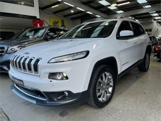 2017 Jeep Cherokee KL Limited White Sports Automatic Wagon