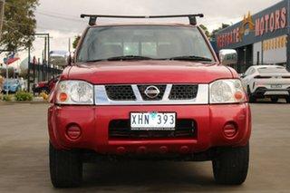 2006 Nissan Navara D22 ST-R (4x4) 5 Speed Manual Dual Cab Pick-up.