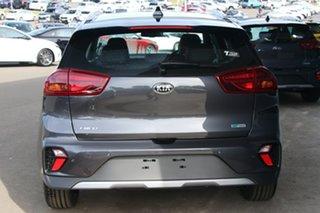 2021 Kia Niro DE 21MY Hybrid DCT 2WD Sport Steel Grey 6 Speed Sports Automatic Dual Clutch Wagon.
