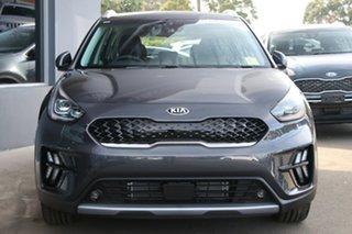 2021 Kia Niro DE 21MY Hybrid DCT 2WD Sport Steel Grey 6 Speed Sports Automatic Dual Clutch Wagon