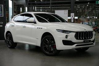 2018 Maserati Levante M161 MY18 GranLusso Q4 White 8 Speed Sports Automatic Wagon.
