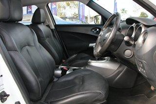 2015 Nissan Juke F15 Series 2 Ti-S 2WD White 6 Speed Manual Hatchback