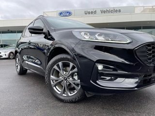 2021 Ford Escape ZH 2021.25MY ST-Line Black 8 Speed Sports Automatic SUV.