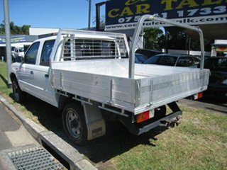 2002 Ford Courier PE 4X4 GL White 5 Speed Manual Dual Cab