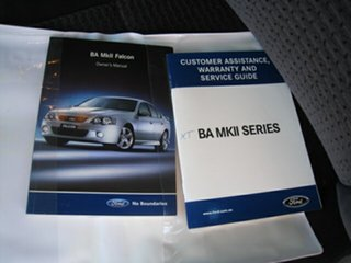 2004 Ford Falcon BA Finance $42 Per Week Silver 4 Speed Automatic Sedan