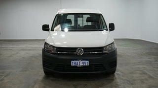 2019 Volkswagen Caddy 2KN MY20 TSI220 SWB DSG White 7 Speed Sports Automatic Dual Clutch Van