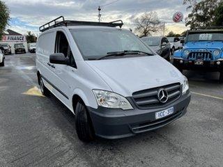 2014 Mercedes-Benz Vito 639 MY14 113CDI SWB White 5 Speed Automatic Van.