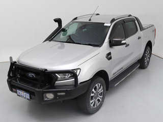 2016 Ford Ranger PX MkII Wildtrak 3.2 (4x4) Silver 6 Speed Automatic Dual Cab Pick-up