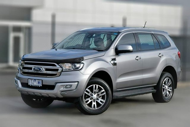 Used Ford Everest UA 2018.00MY Trend Pakenham, 2017 Ford Everest UA 2018.00MY Trend Silver 6 Speed Sports Automatic SUV