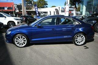 2014 Audi A3 8V MY15 1.8 TFSI Ambition Quattro Scuba Blue 6 Speed Direct Shift Sedan