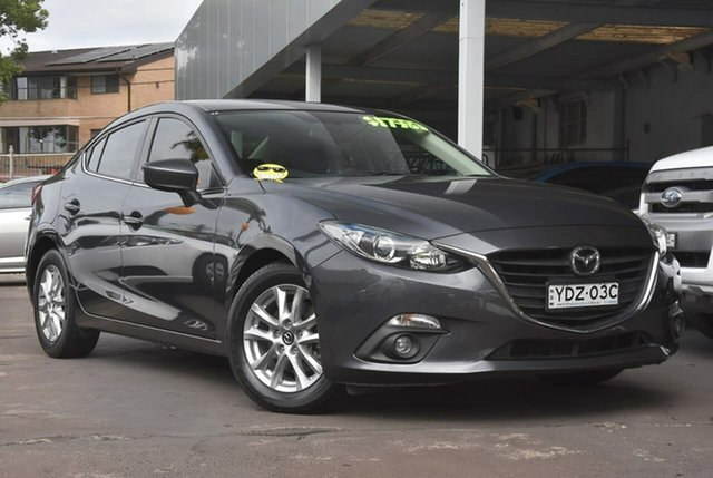 Used Mazda 3 BM5276 Maxx SKYACTIV-MT Waitara, 2016 Mazda 3 BM5276 Maxx SKYACTIV-MT Grey 6 Speed Manual Sedan