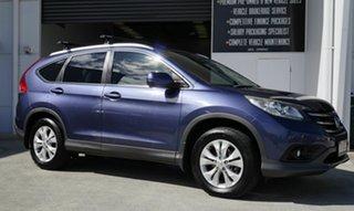 2012 Honda CR-V RM VTi-S 4WD Blue 5 Speed Automatic Wagon.