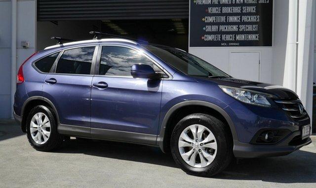 Used Honda CR-V RM VTi-S 4WD Capalaba, 2012 Honda CR-V RM VTi-S 4WD Blue 5 Speed Automatic Wagon