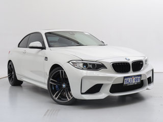 2016 BMW M2 F87 White 7 Speed Auto Dual Clutch Coupe.