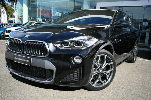 Used BMW X2 F39 MY18 xDrive20d M Sport X Brookvale, 2018 BMW X2 F39 MY18 xDrive20d M Sport X Black Sapphire 8 Speed Auto Sports Mode Wagon