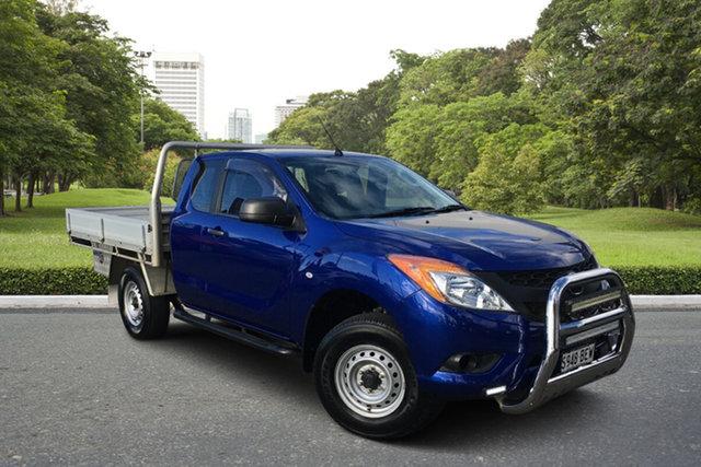 Used Mazda BT-50 UP0YF1 XT Freestyle Paradise, 2014 Mazda BT-50 UP0YF1 XT Freestyle Blue 6 Speed Sports Automatic Cab Chassis