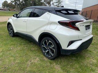 2017 Toyota C-HR NGX10R Koba (2WD) Crystal Pearl & Black Roof Continuous Variable Wagon