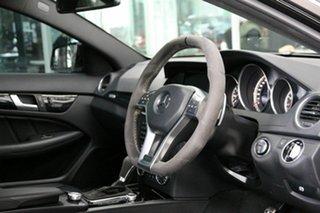 2014 Mercedes-Benz C-Class C204 MY14 C63 AMG SPEEDSHIFT MCT Edition 507 Black 7 Speed.