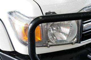 2017 Toyota Landcruiser VDJ76R GXL (4x4) French Vanilla 5 Speed Manual Wagon