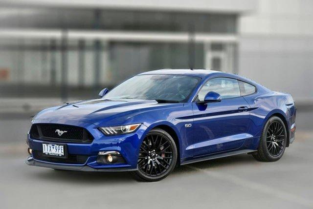 Used Ford Mustang FM GT Fastback Pakenham, 2016 Ford Mustang FM GT Fastback Blue 6 Speed Manual Fastback
