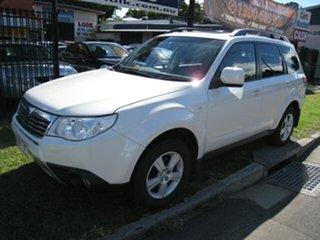 2009 Subaru Forester MY09 XS Premium White 4 Speed Auto Elec Sportshift Wagon.