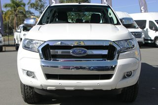 2016 Ford Ranger PX MkII XLT Super Cab Cool White 6 Speed Sports Automatic Utility