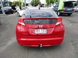 2013 Honda Civic VTi-L Red 4 Speed Automatic Hatchback