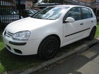 2005 Volkswagen Golf Finance $52 Per Week White 6 Speed Manual Hatchback.