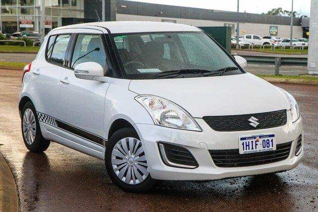 Used Suzuki Swift FZ MY14 GL Rockingham, 2013 Suzuki Swift FZ MY14 GL White 4 Speed Automatic Hatchback
