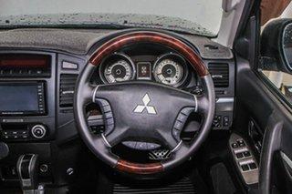 2011 Mitsubishi Pajero NT MY11 Exceed LWB (4x4) Grey 5 Speed Auto Sports Mode Wagon