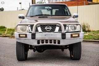 2004 Nissan Patrol GU IV MY05 ST Bronze 5 Speed Manual Wagon