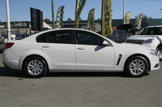 2014 Holden Commodore VF MY14 Evoke Heron White 6 Speed Sports Automatic Sedan
