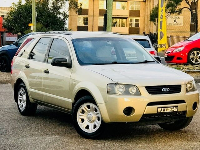 Used Ford Territory SX TX Liverpool, 2005 Ford Territory SX TX Beige 4 Speed Sports Automatic Wagon