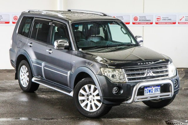 Pre-Owned Mitsubishi Pajero NT MY11 Exceed LWB (4x4) Myaree, 2011 Mitsubishi Pajero NT MY11 Exceed LWB (4x4) Grey 5 Speed Auto Sports Mode Wagon