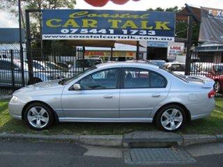2007 Ford Falcon BF MkII 07 Upgrade Futura Silver 4 Speed Auto Seq Sportshift Sedan.