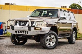 2004 Nissan Patrol GU IV MY05 ST Bronze 5 Speed Manual Wagon.